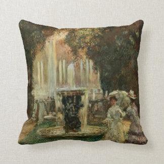 Señoras del Victorian e ilustraciones del vintage Cojín Decorativo