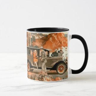 Señoras del vintage - viaje por carretera - taza