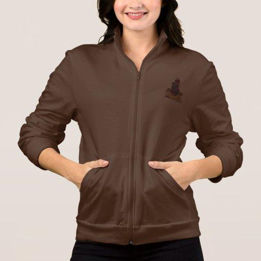 Señoras que contienen la chaqueta del basculador d