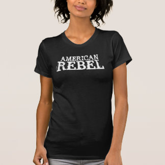 Señoras rebeldes Twofer del americano Camiseta