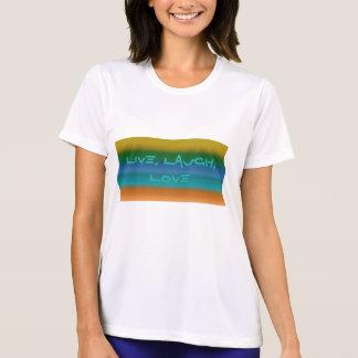Señoras, vivas, risa, camiseta del amor
