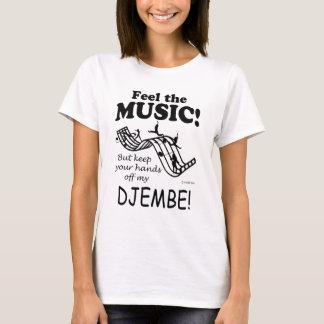 Sensación de Djembe la música Camiseta
