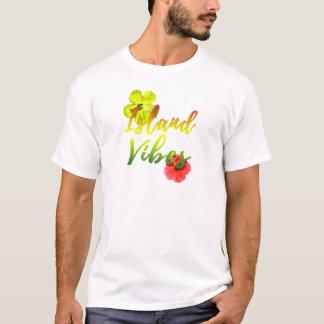 Sensación de la isla camiseta