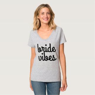 Sensación de la novia camiseta