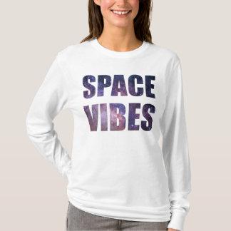 Sensación del espacio camiseta