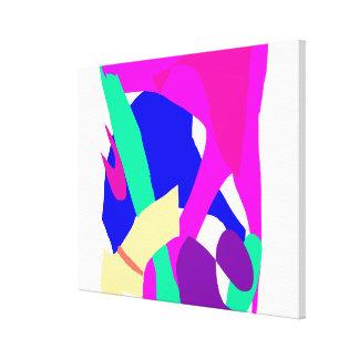 Sensación fácil del método del optimista fresco de lienzo envuelto para galerías