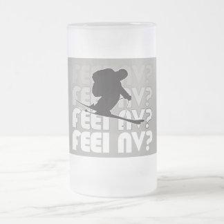 ¿sensación nanovoltio? (TM) Taza de cristal