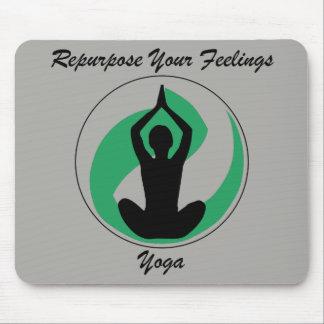 Sensaciones de Mousepad de la yoga Alfombrilla De Ratón