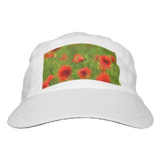 Sensaciones del verano - la amapola maravillosa gorra de alto rendimiento
