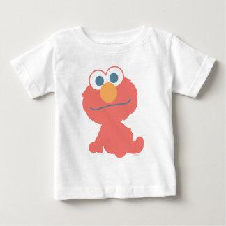 Sentada del bebé de Elmo Camiseta De Bebé