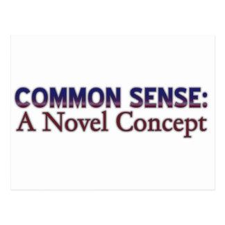 Sentido común: Un concepto nuevo Postal