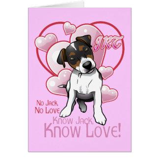 Sepa la tarjeta de felicitación del amor