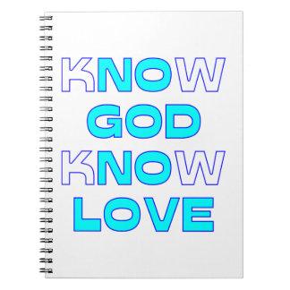Sepa que dios sabe amor cuadernos
