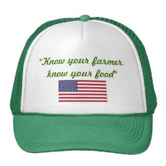 Sepa su casquillo del granjero gorro