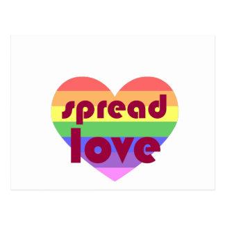 Separe el amor gay postal