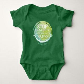 Separe el puente de bebé feliz body para bebé