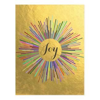 Separe la alegría postal