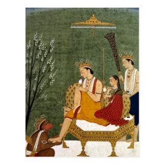 Séptima encarnación de Vishnu como Rama-Chandra Postal