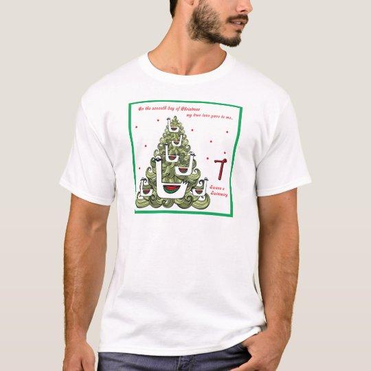 Séptimo día de navidad camiseta