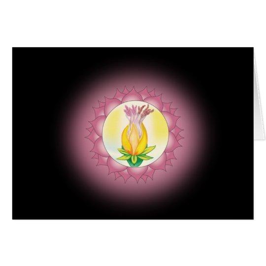 Séptimo paso a la tarjeta del alma con mantra