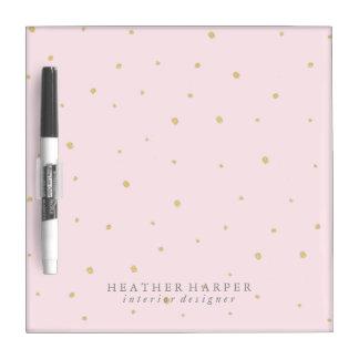 Seque el tablero del borrado - rosa de los puntos