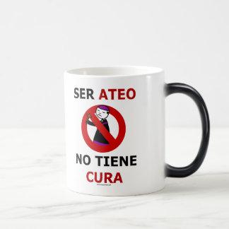 Ser ateo no tiene cura taza de café