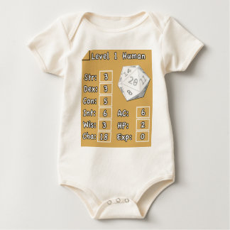 Ser humano del nivel 1 body para bebé