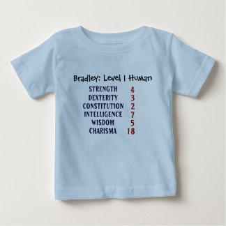 Ser humano del nivel 1 camiseta de bebé