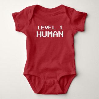 Ser humano del nivel uno del videojugador - camisa