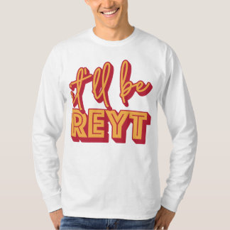 Será camiseta inglesa del argot de Reyt Yorkshire