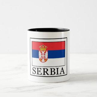 Serbia Taza Bicolor