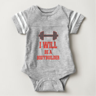 Seré un Bodybuilder Body Para Bebé