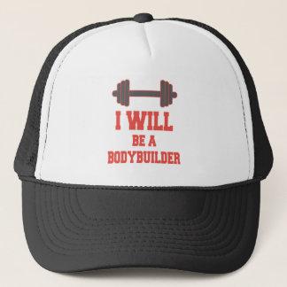 Seré un Bodybuilder Gorra De Camionero