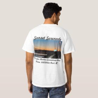 Serenata de la puesta del sol @ la camiseta de la
