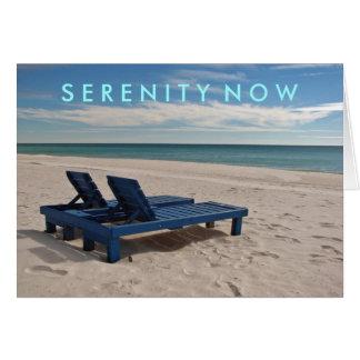 Serenidad ahora tarjeta