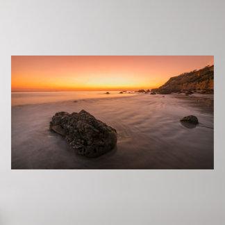 Serenidad en la playa del EL Matador Póster