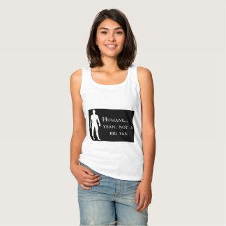 Seres humanos… sí no una camiseta grande de la