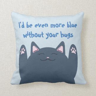 Sería aún más azul sin su almohada de los abrazos