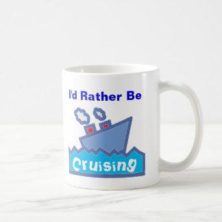 Sería bastante 01 que cruzan taza de café