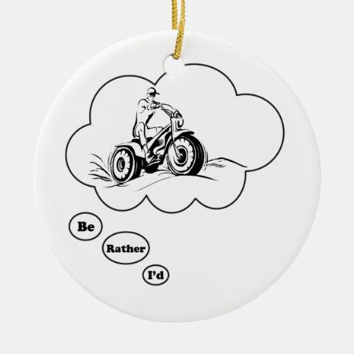 Sería bastante ATV que monta 2 Ornamente De Reyes