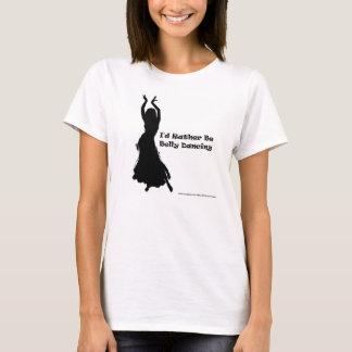 Sería bastante camisetas sin mangas de la danza
