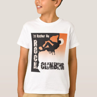 Sería bastante escalada camiseta