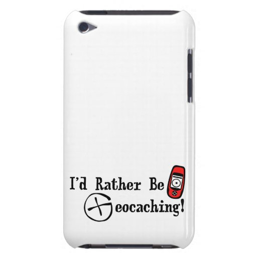 Sería bastante Geocaching iPod Touch Case-Mate Protectores