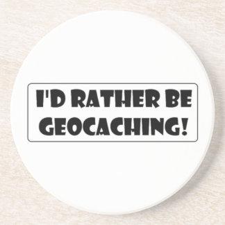 ¡Sería bastante Geocaching! Posavasos Manualidades