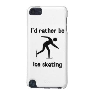 Sería bastante patinaje de hielo