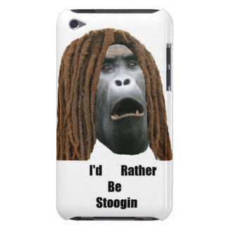 Sería bastante tacto 4to Gen Case de Stoogin iPod Barely There iPod Protectores