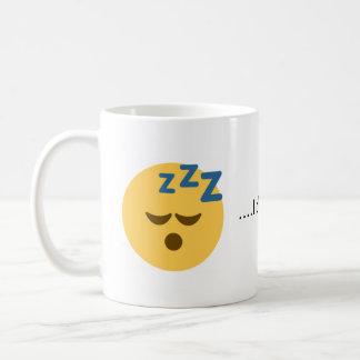 Sería bastante taza de café el dormir Emoji