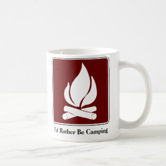 Sería bastante taza de café que acampa
