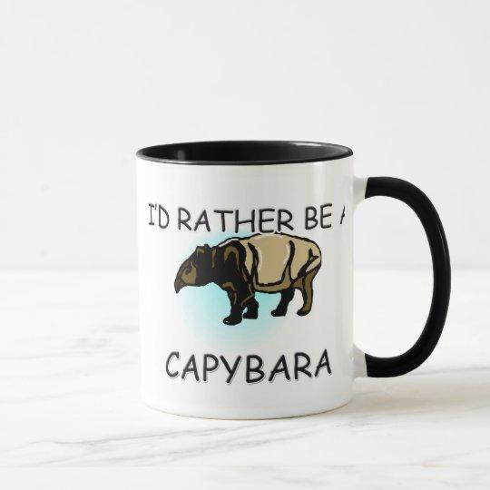 Sería bastante un Capybara Taza