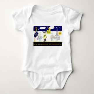 Serie #2 del super héroe body para bebé